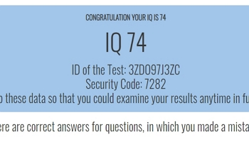 Test what iq is an Free IQ